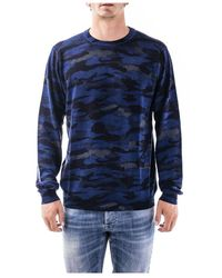 Sun 68 Sweater - Bleu