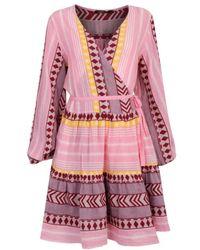 Devotion Vestido Cruzado Print - Roze