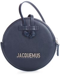 Jacquemus Le Pitchou Small Leather Crossbody - Blauw