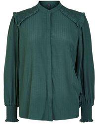 Y.A.S Shirt Sycamore - Groen