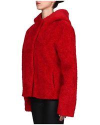 Betta Corradi Coat Rojo