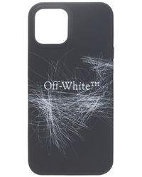 Off-White c/o Virgil Abloh IPhone 12/12 Pro Max case - Schwarz