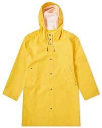 Stutterheim Stockholm Raincoat - Geel