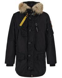 Parajumpers Kodiak long jacket - Negro
