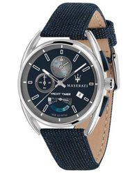 Maserati Watch Trimarano_R885113 - Blau
