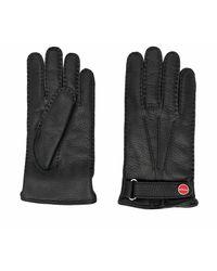 Kiton Gloves - Negro