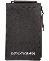 Emporio Armani Wallet - Groen