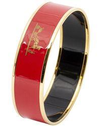 Hermès Bracciale in smalto - Rosso