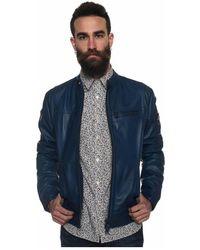 Peuterey Saguaro Biker Jacket - Blauw