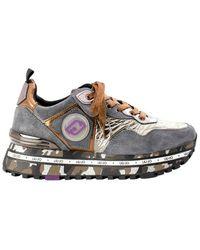 Liu Jo Sneaker Maxi Wonder - Grijs