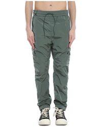 C.P. Company Chrome-R Track Pants - Vert