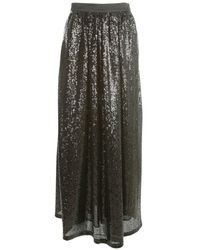 Emporio Armani Long Skirt - Zwart