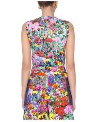 Boutique Moschino Cotton Knit Tank TOP Rosa