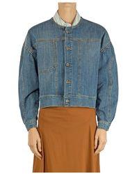 Soallure Jacket N3022 - Bleu