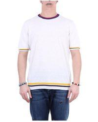 Altea 2051271 Short Sleeve T-shirt - Wit