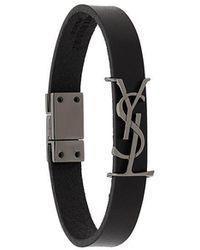 Saint Laurent Ysl Armband - Zwart