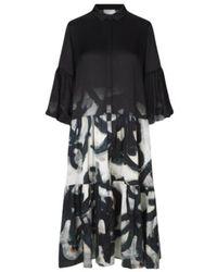 Munthe Role Dress - Nero