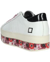 Date I19-1 Sneakers bassa Blanco