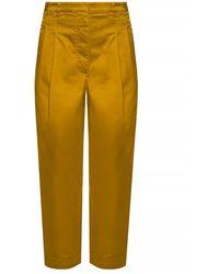Proenza Schouler High-waisted Trousers - Bruin