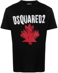 DSquared² T-shirt - Zwart