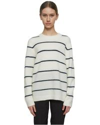 Just Female Eos knit sweater - Blanco