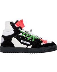 Off-White c/o Virgil Abloh Hoge 3.0 Sneakers - Zwart