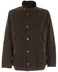 Barbour Geborduurd Logo Jacket - Bruin
