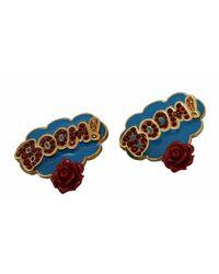 Dolce & Gabbana Clip-on Earrings - Blauw