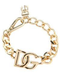 Dolce & Gabbana Dg Chain Bracelet - Geel