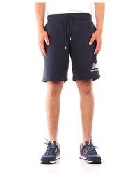 New Balance Pantaloni al ginocchio - Blu