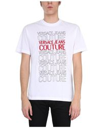 Versace Jeans Couture Crew Neck T-Shirt - Bianco