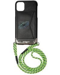 Givenchy Iphone 11 Case Met Riem - Zwart