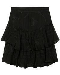 Alix The Label - Chiffon Skirt 2106212037-999 - Lyst