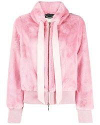 Blugirl Blumarine Bomber Jacket - Roze