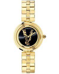 Versace Virtus Infinity Vez400521watch - Geel