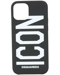 DSquared² Iphone 12 Pro Cover - Zwart