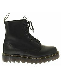 Dr. Martens 1460 Pascal Ziggy - Leather Ankle Boot - Zwart