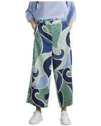 Marella Pantaloni - Blauw