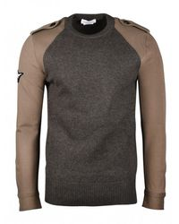Alexander McQueen Crew Neck Sweater - Grijs