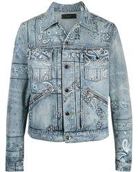 BRIGLIA Denim Jacket - Blauw