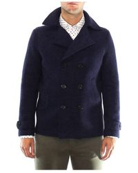 Harris Wharf London - Double-breasted Jacket - Lyst