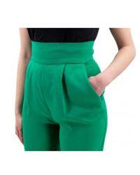 Pinko Pantaloni Verde