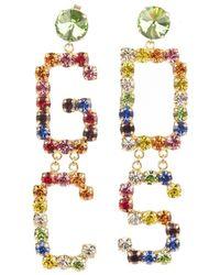 Gcds Bijoux earrings - Rouge
