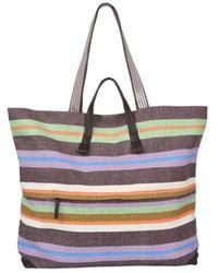 Epice Shopping Tote BAG - Bleu