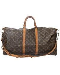 Louis Vuitton Keepall Bandouliere 55 - Bruin