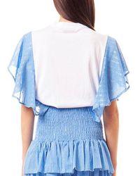 Odi Et Amo 004T1 T-shirt Azul