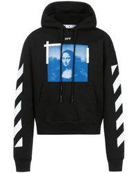 Off-White c/o Virgil Abloh Mona Lisa hoodie - Nero