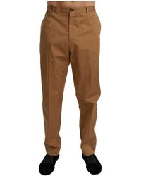 Dolce & Gabbana - Chinos Trousers - Lyst