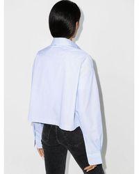 R13 Oversized Shirt Azul
