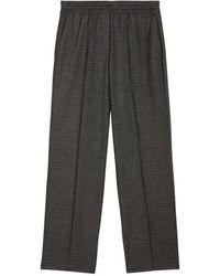 Marc O'polo Wide-leg Trousers - Zwart